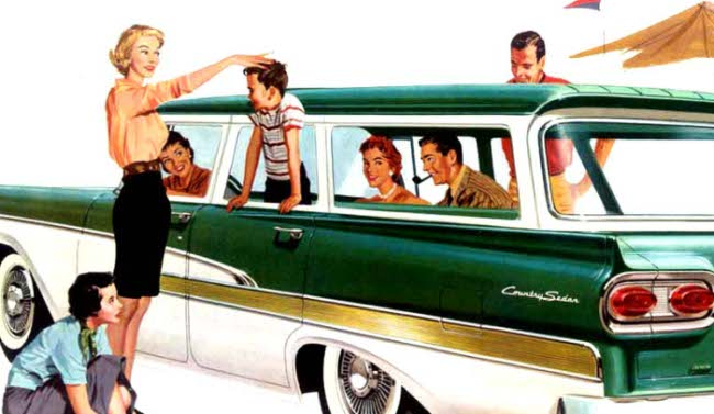Ford StatonWagons - 1958
